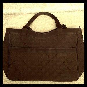 ✓ Vera Bradley large bag brown